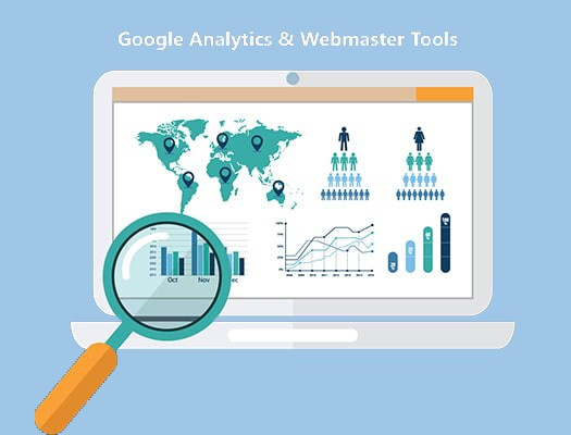 Google Analytics, Webmaster Tools